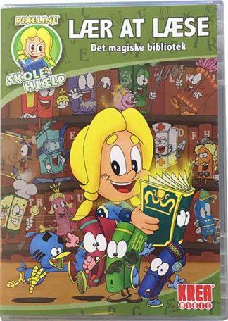 PIXELINE Lær At Læse Det Magiske Bibliotek PC/Mac