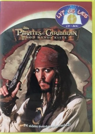 Pirates of the Caribbean Død Mands Kiste - Lyt og Læs (bog+cd) Disney