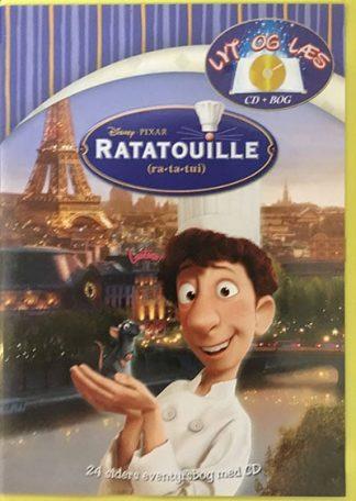 Ratatouille - Lyt og Læs (bog+cd) Disney