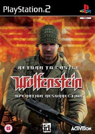 Return to Castle Wolfenstein Operation Resurrection PS2