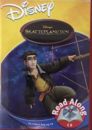 Skatteplaneten - Lyt og Læs (bog+cd) Disney