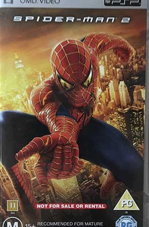 Spider-Man 2 PSP UMD Film