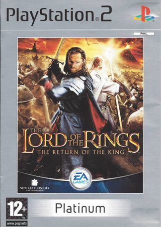 The Lord of the Rings The Return of the King (platinum) PS2