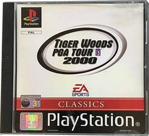 Tiger Woods PGA Tour 2000 PS1 Spil