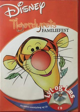 Tigerdyrets Familiefest - Lyt og Læs (bog+cd) Disney