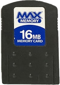 16MB Memory Card PS2 max memory