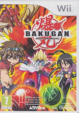 Bakugan Battle Brawlers Wii