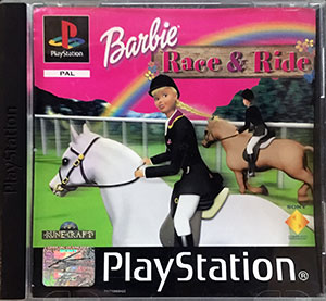 Barbie Race & Ride PS1