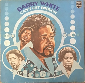 Barry White Can't Get Enough LP