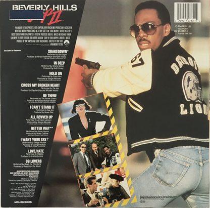Beverly Hills Cop II Soundtrack LP bagside