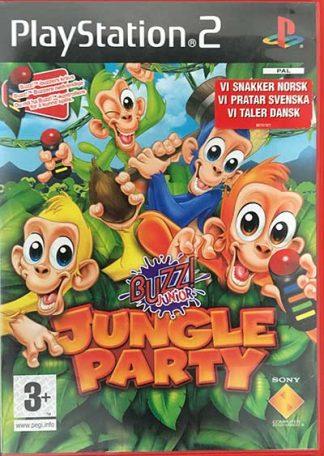 Buzz! Jungle Party PS2