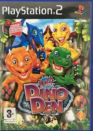Buzz! Junior Dino Den PS2