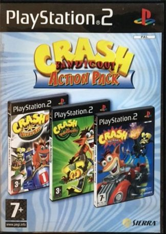 Crash Bandicoot Action Pack PS2