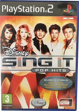 Disney Sing It Pop Hits PS2