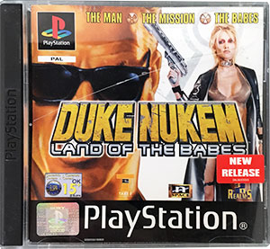 Duke Nukem Land of the Babes PS1