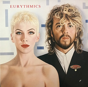 Eurythmics Revenge LP