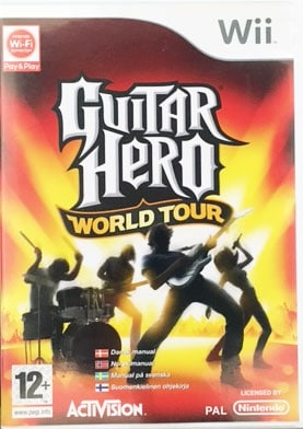Guitar Hero World Tour Wii