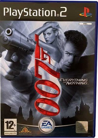 James Bond 007 Everything or Nothing PS2 Brugt spil
