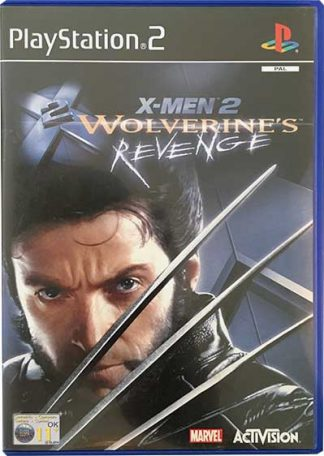 X-Men 2 Wolverine's Revenge PS2