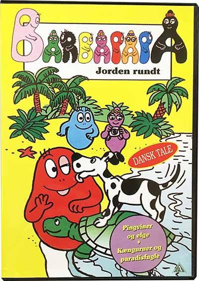 Barbapapa - Jorden Rundt Dvd