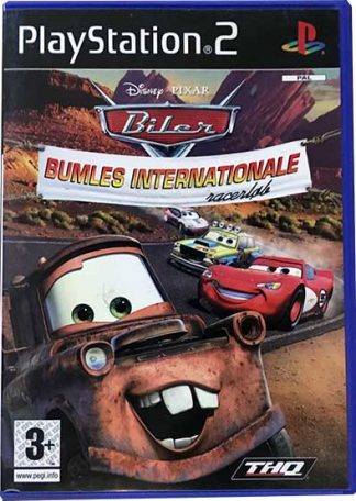 Disney-Pixar Biler Bumles Internationale Racerløb PS2