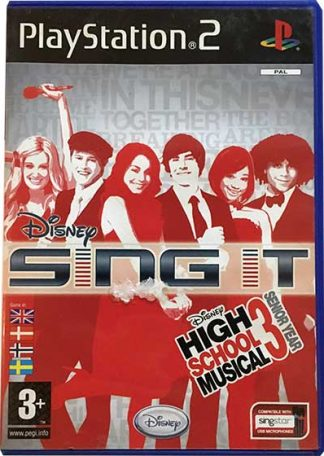 Disney Sing It High School Musical 3 Senior Year PS2