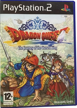 Dragon Quest The Journey of the Cursed King PS2