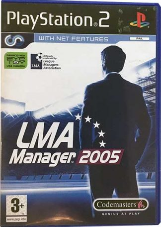 LMA Manager 2005 PS2