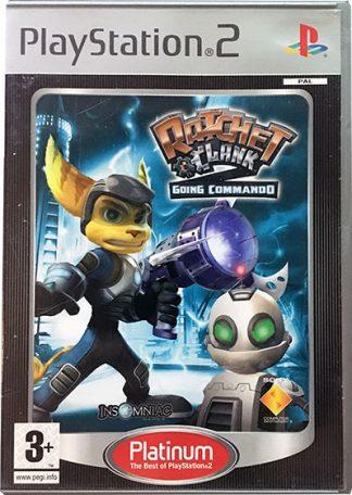 Ratchet & Clank 2 Going Commando PS2