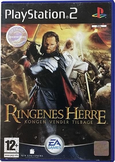 Ringenes Herre Kongen vender tilbage PS2
