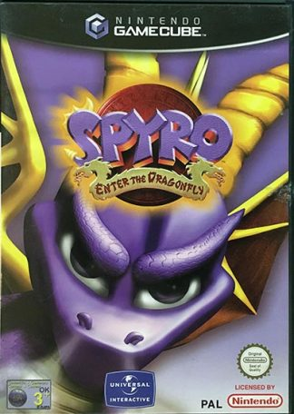 Spyro Enter the Dragonfly Nintendo GameCube