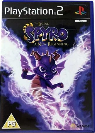 The Legend of Spyro A New Beginning PS2