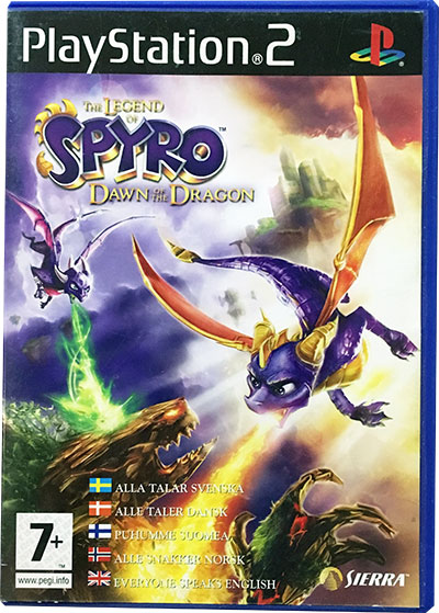 The Legend of Spyro Dawn of the Dragon PS2