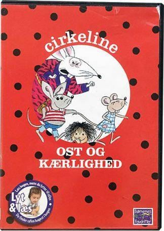 Cirkeline Ost og Kærlighed - Lyt og Læs (bog+cd)