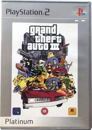 Grand Theft Auto III platinum PS2