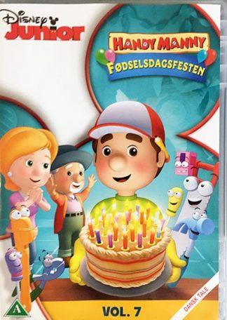 Handy Manny Fødselsdagsfesten Dvd