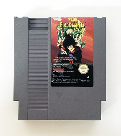 Wrath of the Black Manta Nes