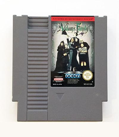 Addams Family NES SCN
