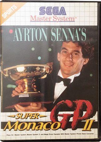 Ayrton Senna's Super Monaco GP II Sega Master System