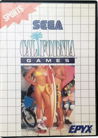 California Games Sega Master System