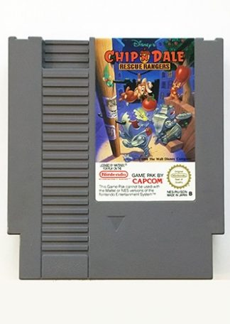 Chip 'n Dale Rescue Rangers NES SCN