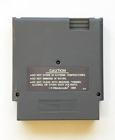 Donkey Kong Classics NES bagside