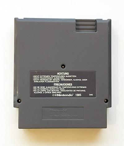 Gremlins 2 NES bagside