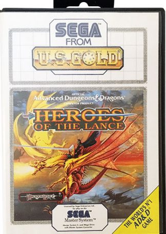 Heroes Of The Lance Sega Master System