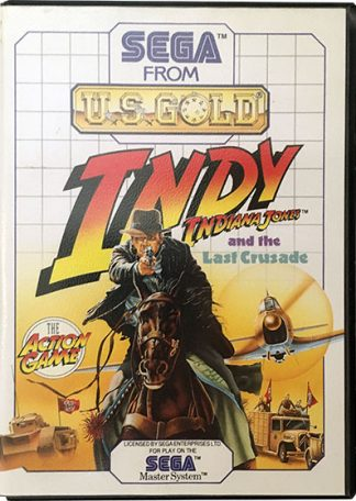 Indiana Jones and the Last Crusade Sega Master System