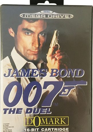 James Bond 007 The Duel Sega Mega Drive