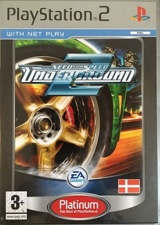 Need For Speed Underground 2 (platinum) PS2
