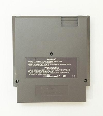 Paperboy NES spil bagside