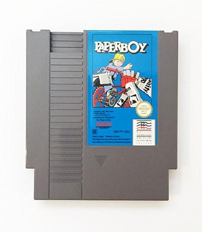 Paperboy NES spil