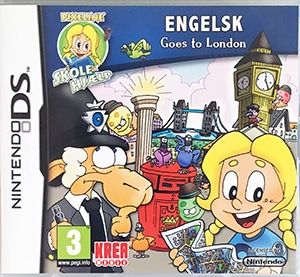 Pixeline - ENGELSK Goes to London Nintendo DS